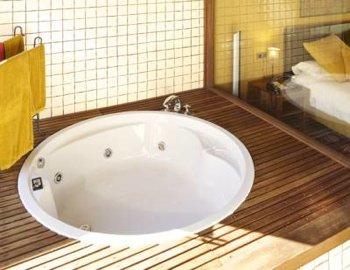 bañera de hidromasaje La Corte de Lugás